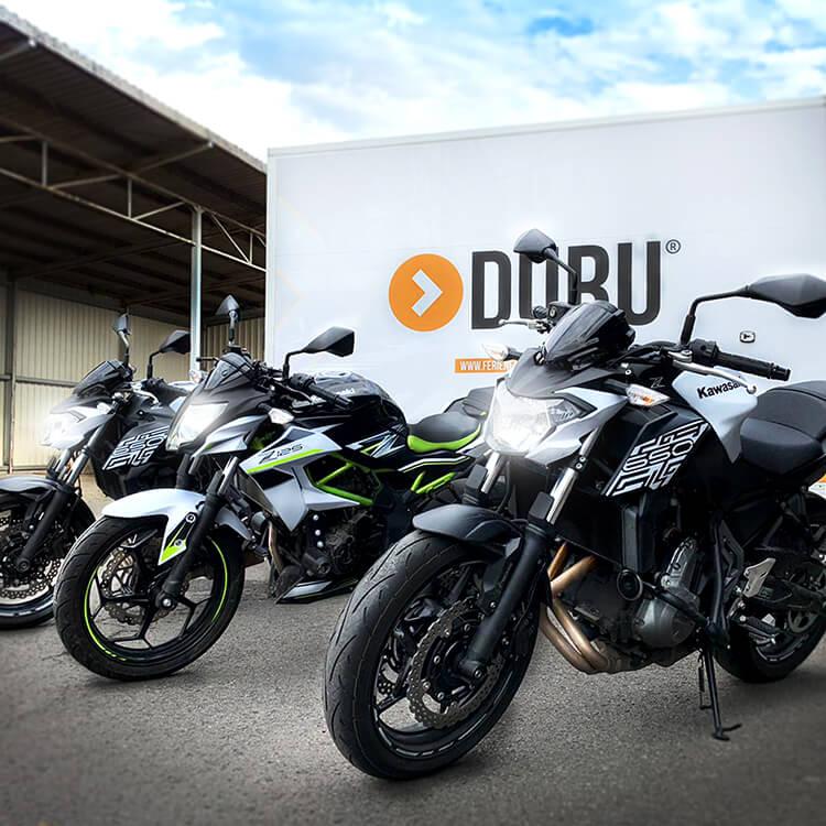 Führerscheinausbildung für Motorräder und Mofas (A, A2, A1, AM und MOFA)